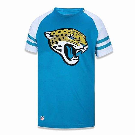 Camiseta Jacksonville Jaguars Logo Raglan - New Era
