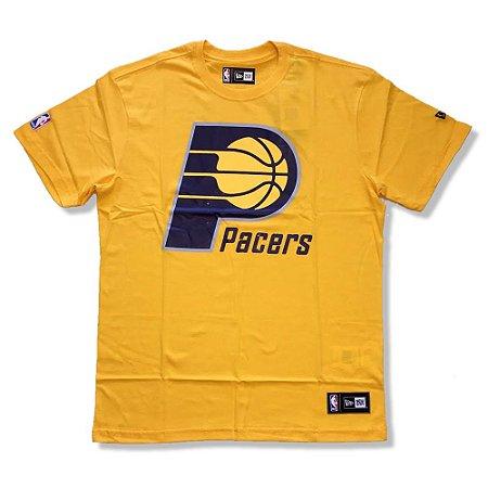 Camiseta Indiana Pacers NBA Basic Amarelo - New Era