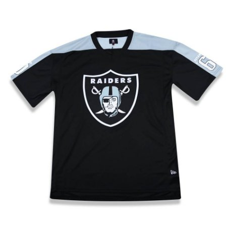 Camiseta JERSEY Oakland Raiders Preta NFL - New Era