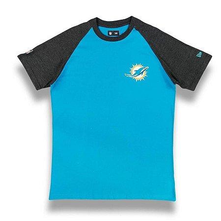 Camiseta Miami Dolphins Blazon - New Era
