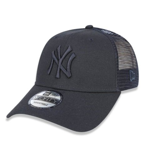 Boné New York Yankees 940 Trucker Preto - New Era