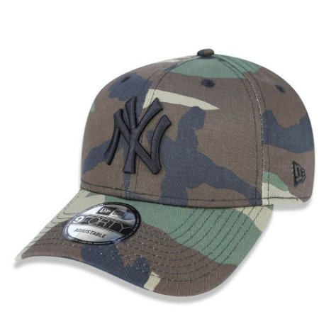 Boné New York Yankees 940 Woodland Camo - New Era