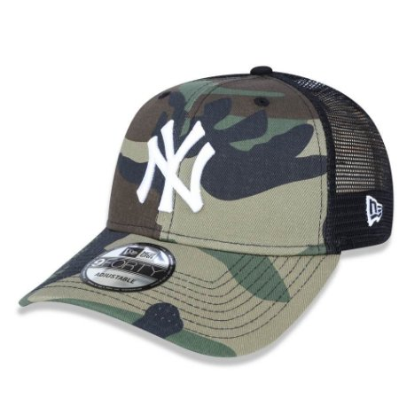 Boné New York Yankees 940 Trucker Camo - New Era