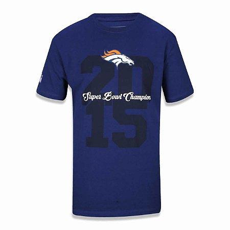 Camiseta Denver Broncos Piquet - New Era