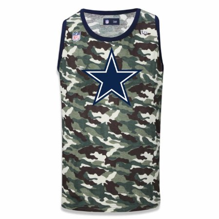 Regata Dallas Cowboys Camuflada Team - New Era
