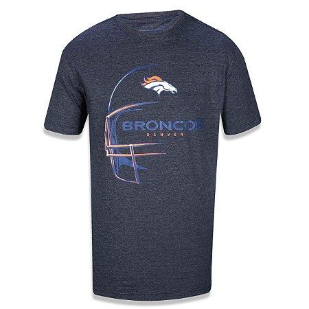 Camiseta Denver Broncos Capacete Cinza - New Era