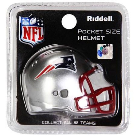Mini Capacete Riddell New England Patriots Pocket Size