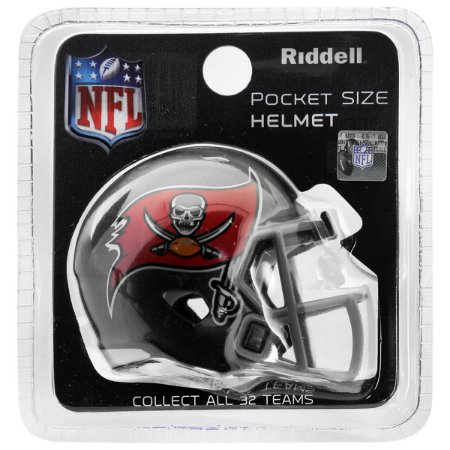 Mini Capacete Riddell Tampa Bay Buccaneers Pocket Size