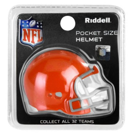 Mini Capacete Riddell Cleveland Browns Pocket Size