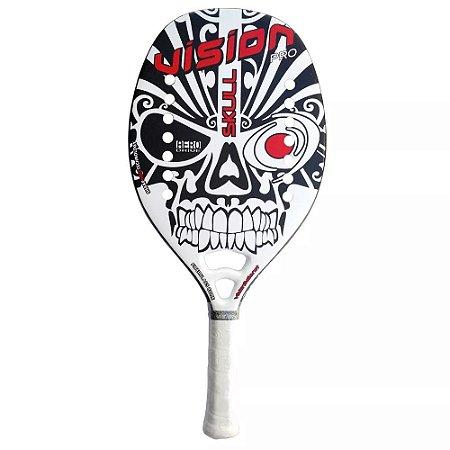 Raquete Beach Tennis Vision Skull Caveira