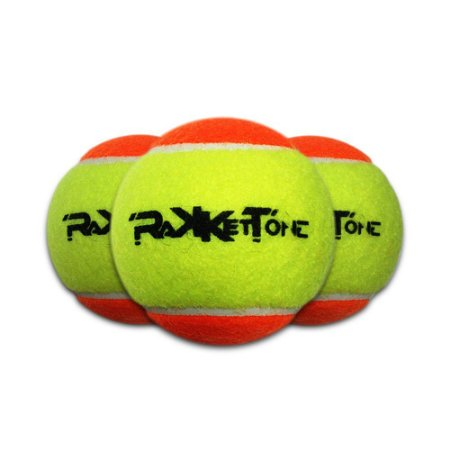 Kit 3 Bolas de Beach Tennis Rakkettone
