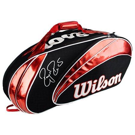 Raqueteira Wilson Roger Federer X9