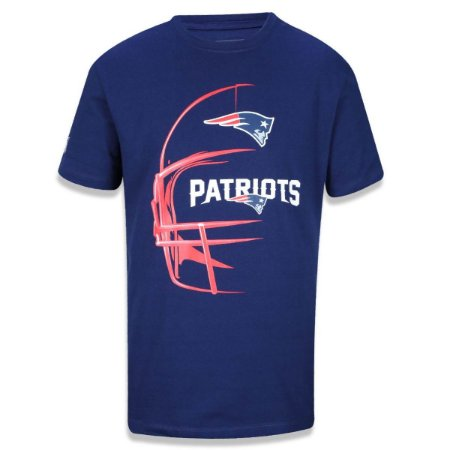 Camiseta New England Patriots Capacete - New Era