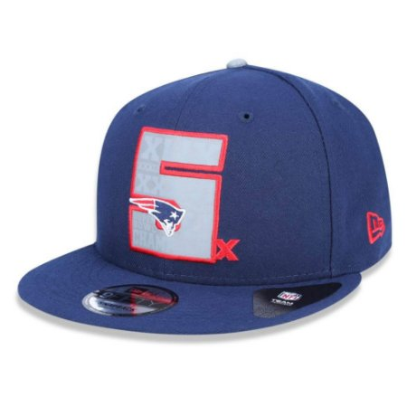 Boné New England Patriots 950 5x Champion NFL - New Era