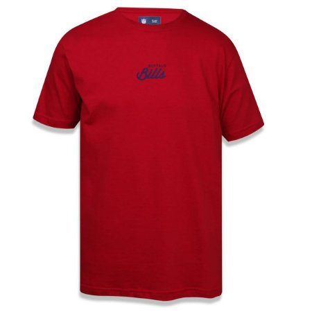 Camiseta Buffalo Bills Script Vermelho - New Era