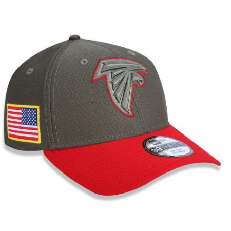 ed13cfe0c Boné Atlanta Falcons 3930 Salute to Service - New Era - FIRST DOWN ...