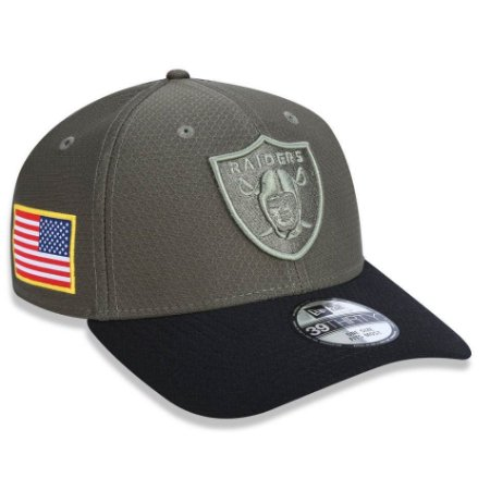 Boné Oakland Raiders 3930 Salute to Service - New Era