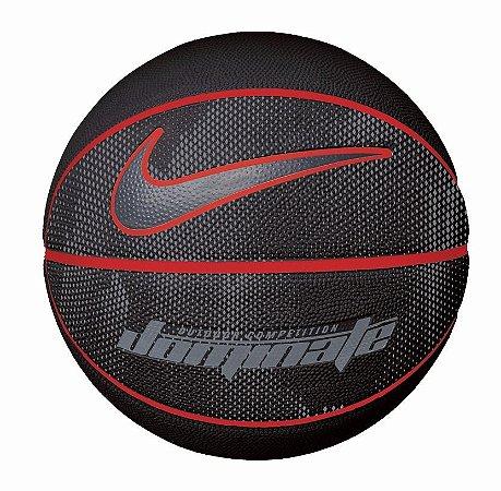 Bola de Basquete Nike Dominate Preto Vermelho