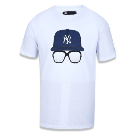 Camiseta New York Yankees Cap Glass - New Era