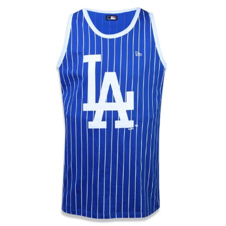 Regata Los Angeles Dodgers 6 Stripe - New Era