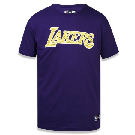 Camiseta Los Angeles Lakers Game Piece - New Era - FIRST DOWN ... 14301185fc0