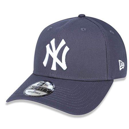 Boné New York Yankees 940 White on Gray - New Era