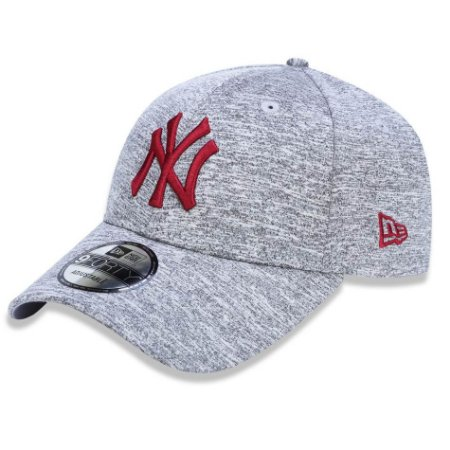 Boné New York Yankees 940 Tech Jersey Cinza/Vermelho - New Era