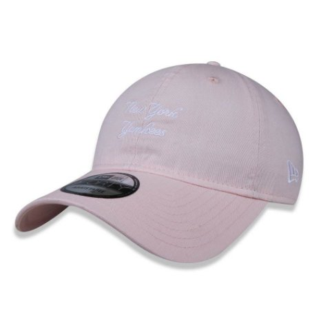 Boné New York Yankees 920 Sunbleach Rosa - New Era