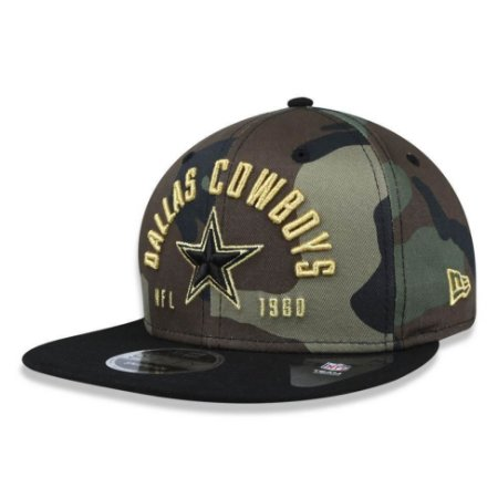 Boné Dallas Cowboys 950 Street Militar Snapback - New Era