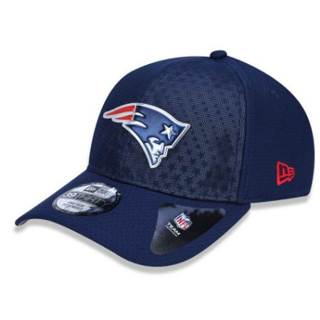 Boné New England Patriots 3930 Color Rush 2017 - New Era