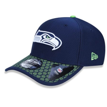 Boné Seattle Seahawks 3930 Sideline 2017 Official - New Era