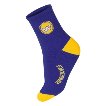 Meia NBA Golden State Warriors Cano Médio
