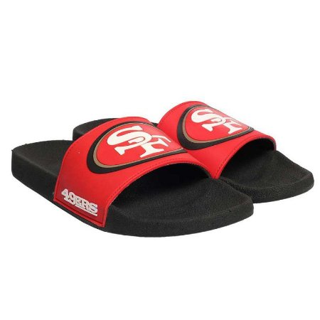 Chinelo Storm Slip On San Francisco 49ers NFL