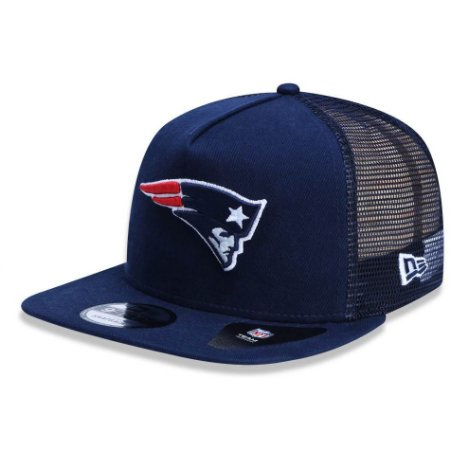 Boné New England Patriots 950 Team Wash Trucker - New Era