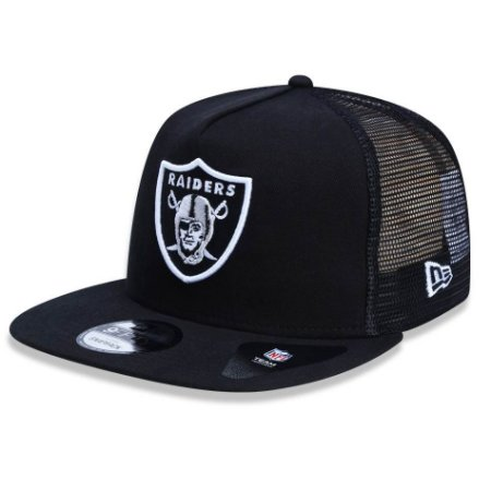 Boné Oakland Raiders 950 Team Wash Trucker - New Era