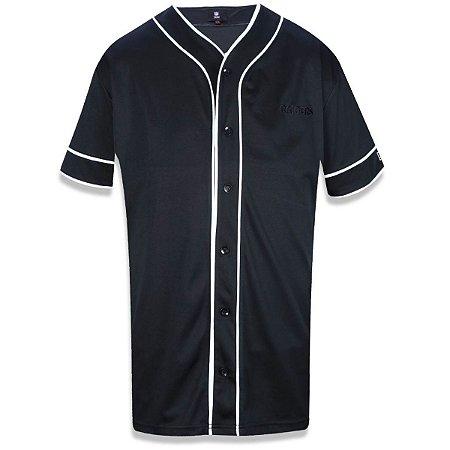 Camisa Botão Oakland Raiders PU - New Era