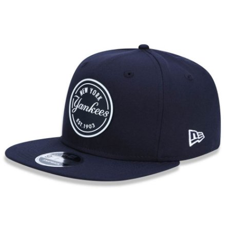 Boné New York Yankees 950 Stretch Rubber Azul MLB - New Era