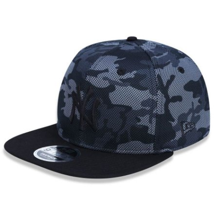 Boné New York Yankees 950 Camuflado Gray MLB - New Era