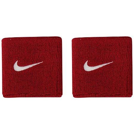 Munhequeira Nike Swoosh Vermelha