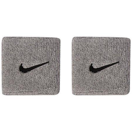Munhequeira Nike Swoosh Cinza
