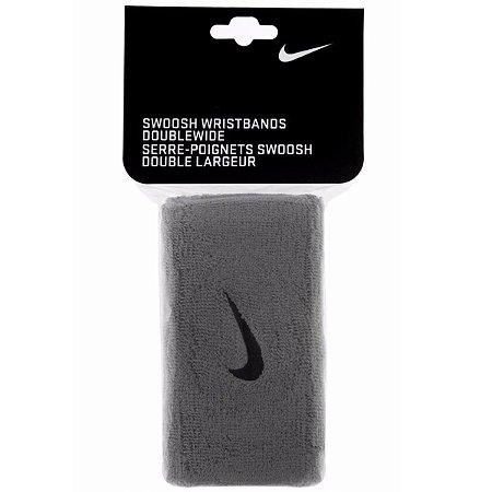 Munhequeira Nike Swoosh Double Cinza
