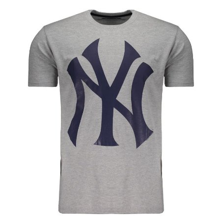 Camiseta New York Yankees Color Cinza/Azul - New Era