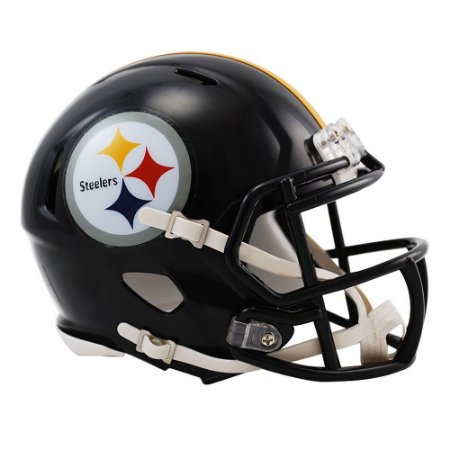 Capacete Riddell Pittsburgh Steelers Miniatura Revolution Speed