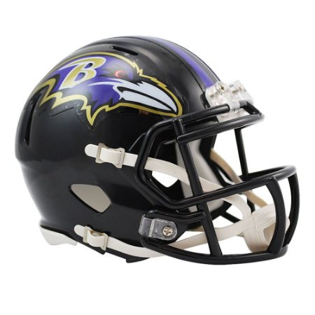 b00a34483 Mini Capacete Riddell Baltimore Ravens Revolution Speed - FIRST DOWN ...