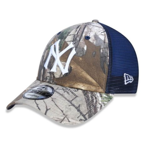 Boné New York Yankees 940 Real Tree Trucker - New Era