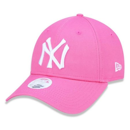 Boné New York Yankees 940 Cluth Hit 1934 Feminino Rosa - New Era