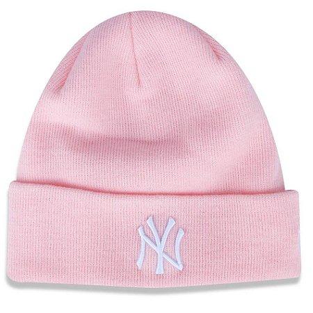Gorro Touca New York Yankees Core Feminino - New Era