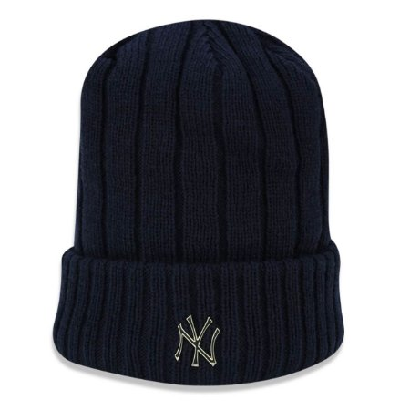 Gorro Touca New York Yankees Core Badge Slick - New Era
