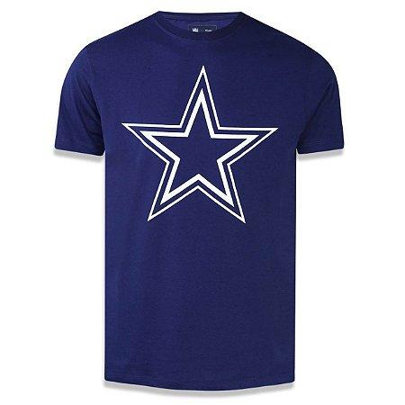 Camiseta Dallas Cowboys Basic Azul - New Era