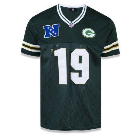 Camiseta Jersey Green Bay Packers Sports Vein - New Era - FIRST DOWN ... 3263ff648ce60